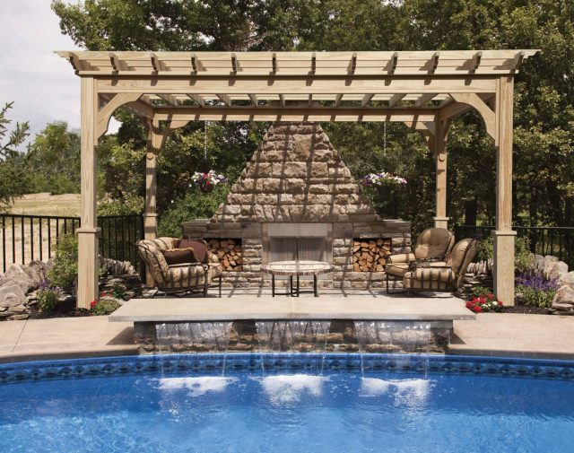 durable wood pergola