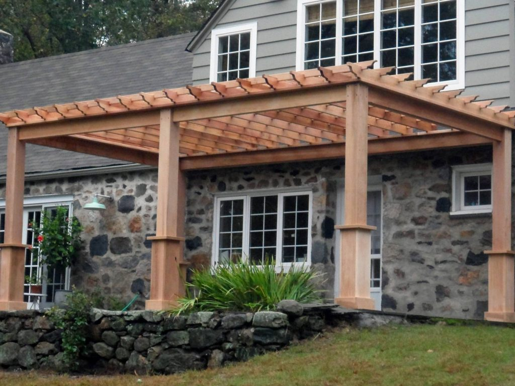 Cedar Pergola Kits | Amish Pergolas for Sale