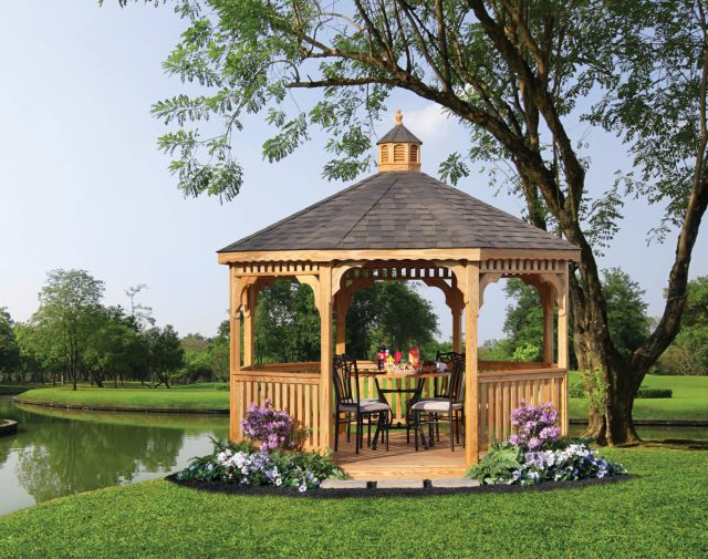 10' oct p-t yellowpine gazebo