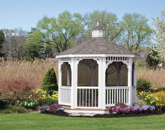 vinyl gazebo options
