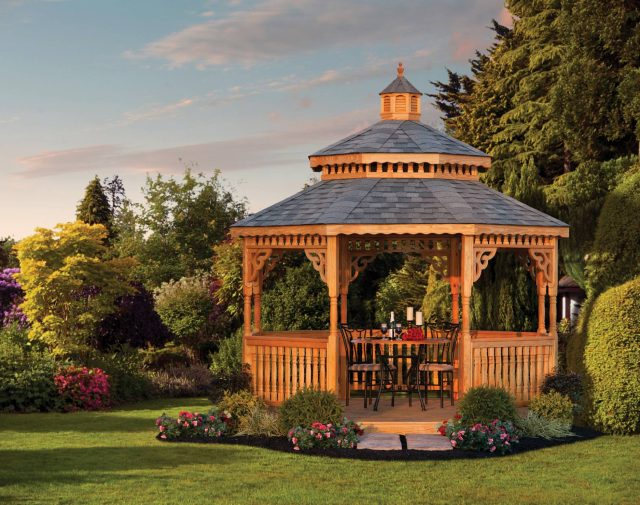 wood gazebo kits