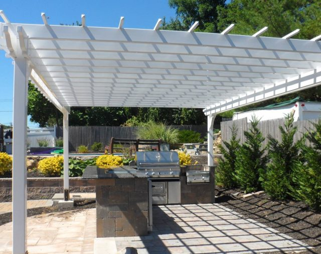 12x16 vinyl cozy retreat pergola