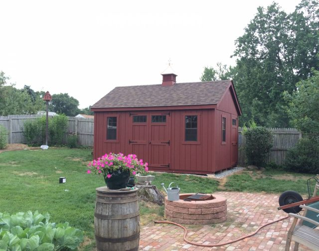 12x16 wooden shed