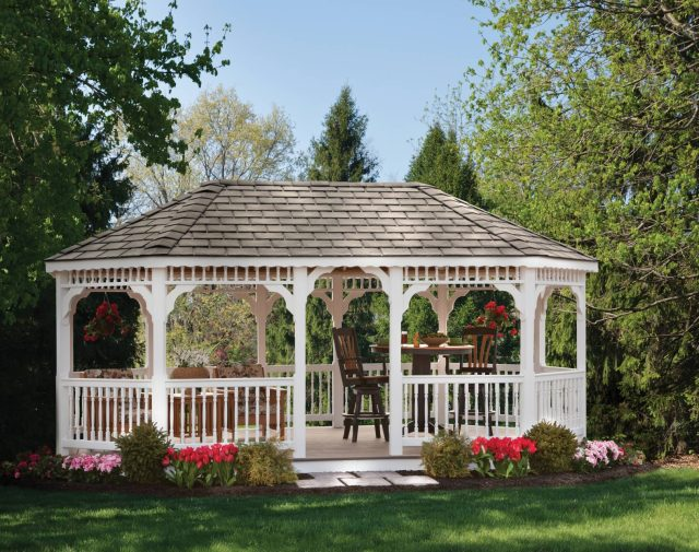 vinyl gazebo outdoor living