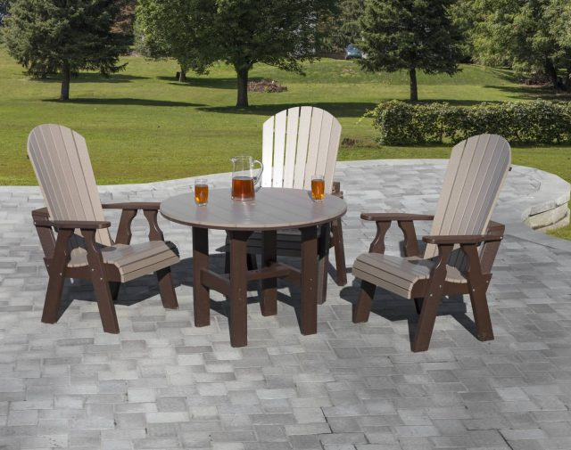 outdoor poly dining sets