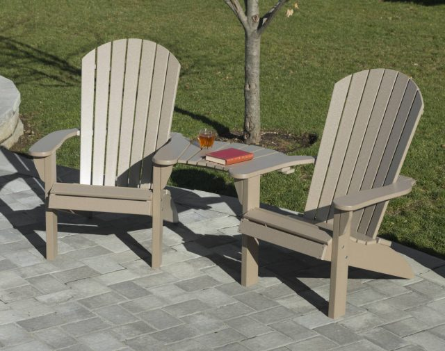 outdoor poly patio furnishings