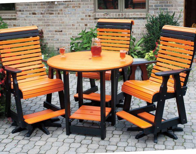 231741-orange and black pub set-large