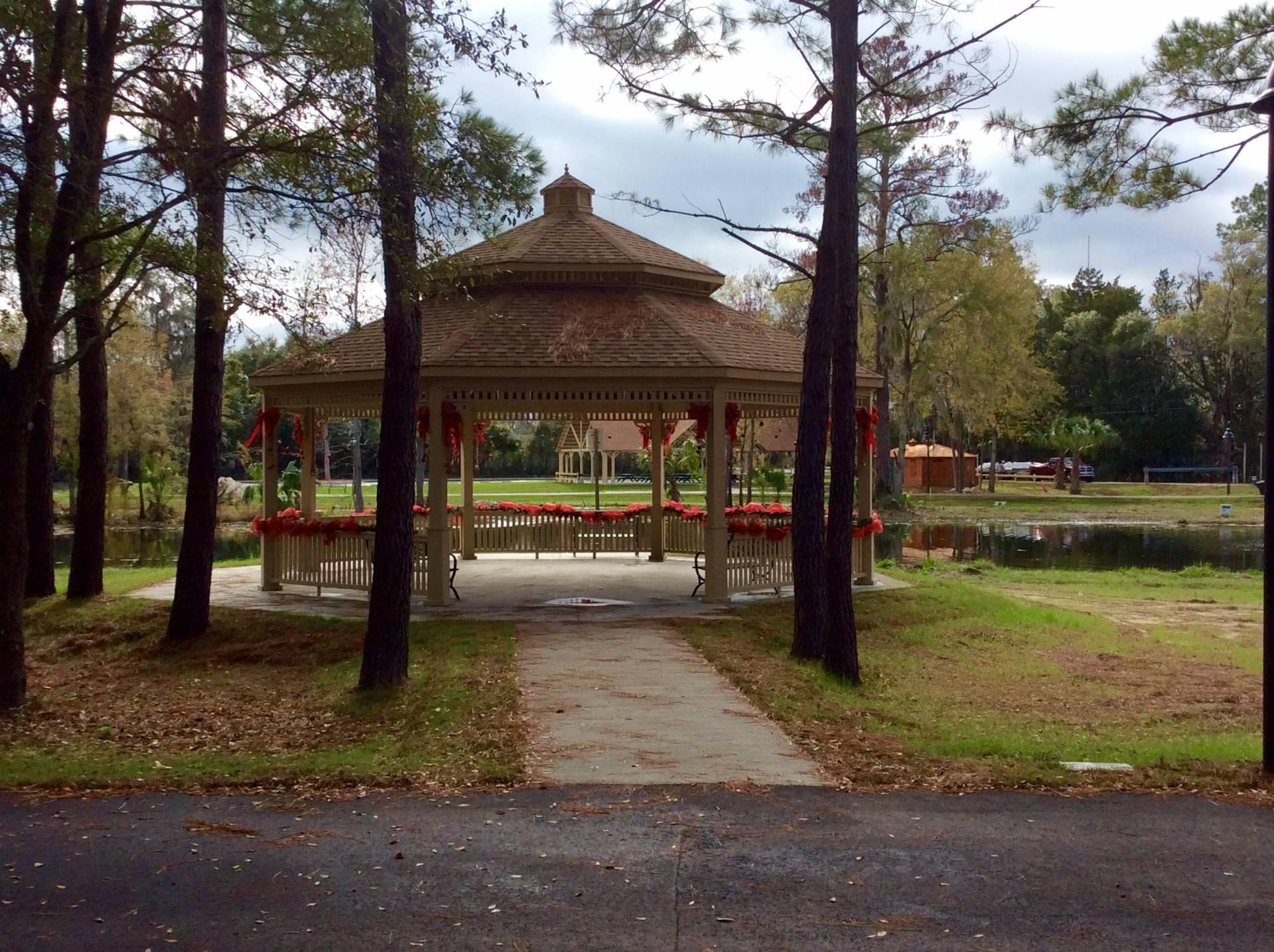 big commercial wood pavilions Florida