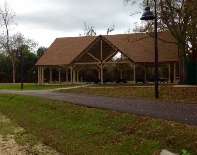 big commercial wood pavilions Florida