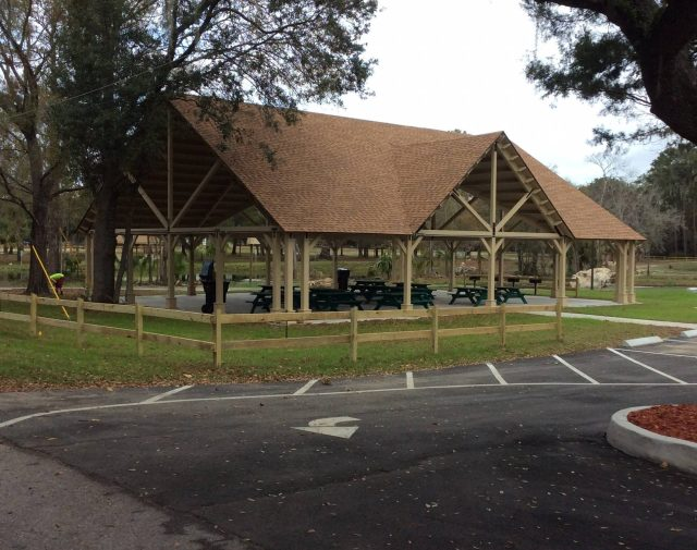 40x60 commercial yellowpine wood pavilion open gabe a frame with domer