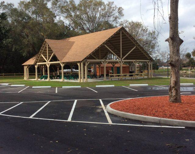 40x60 p.t. wood commercial pavilion