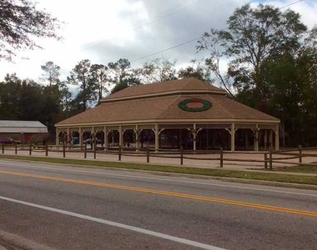 big wooden commercial gazebo Florida