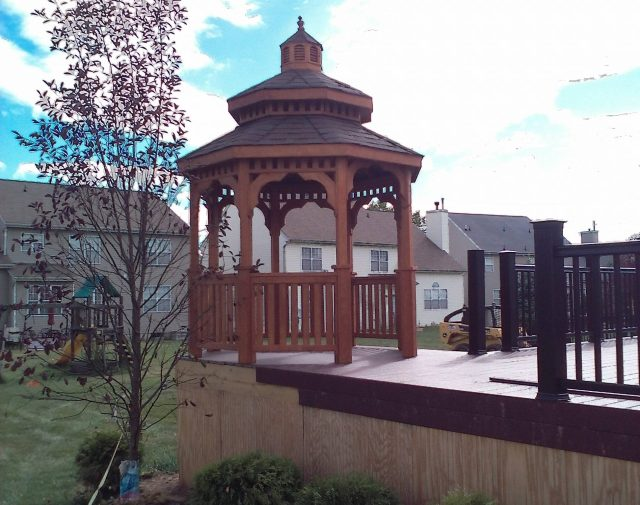 gazebo options for decks