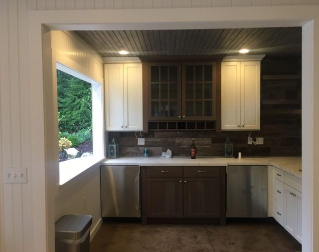 interior finished pavilion kitchen