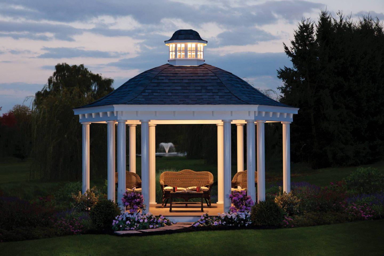 bell roof pavilion