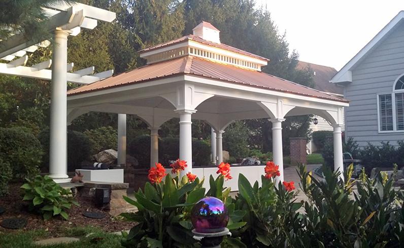 double roof pagoda
