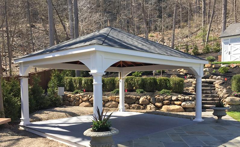 standard style pavilion design