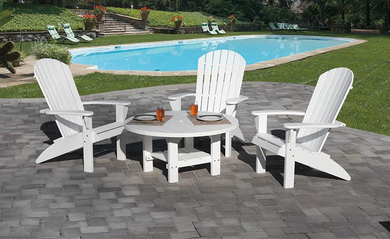 outdoor furniture for backyard makeover idea