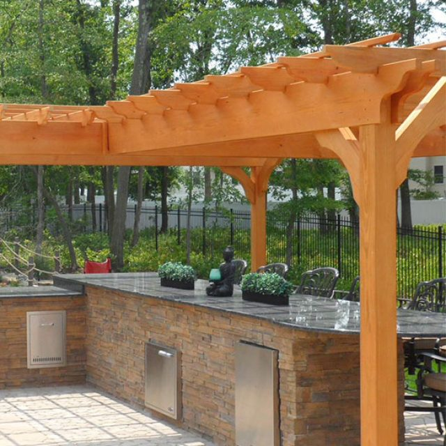 How To Build A Pergola On A Deck 6 Steps To Design A Pergola Over
