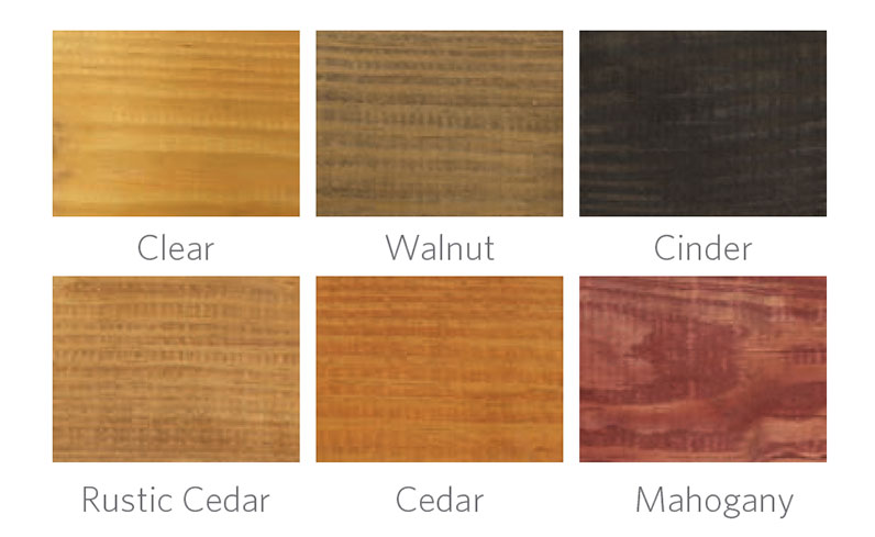 wooden pergola stain colors