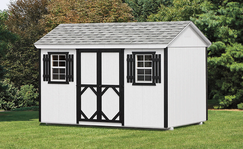 basic wooden shed prices
