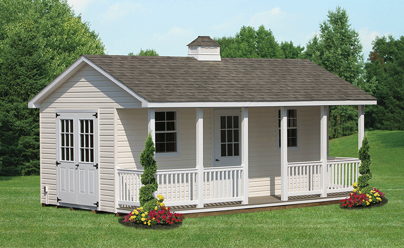 deluxe vinyl shed cost