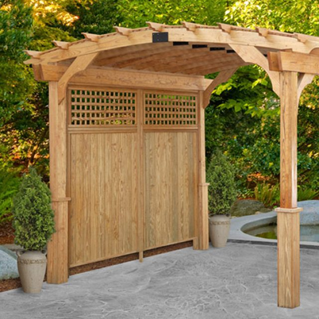 Our Favorite Privacy Pergola Picks