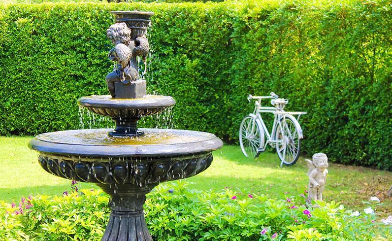 fountain outdoor improvement