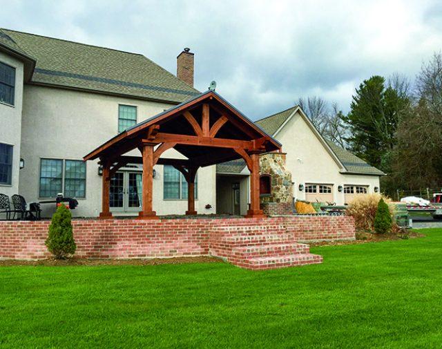 Grand Escape Cedar Timber Pavilion