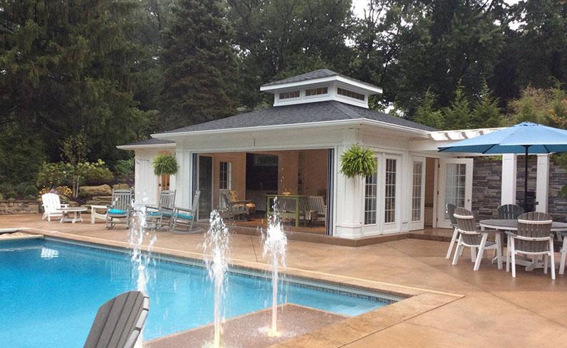 pool house pavilion ideas