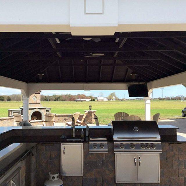 Outdoor Kitchen Pavilion Pergola Ideas Need To Know Grill Pergola Info