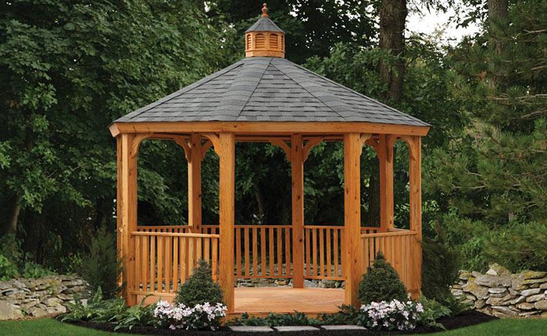 gazebo backyard shade solution