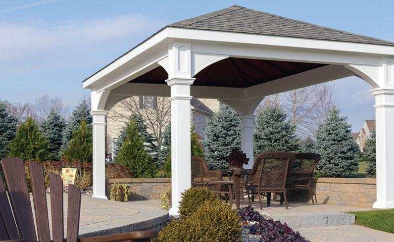 pavilion backyard shade option