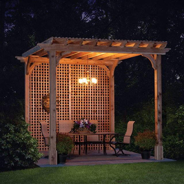 How to Decorate a Pergola Like a Pro