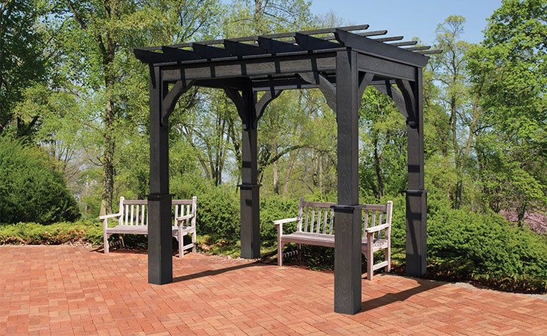 permit requirements for a pressure treated wood pergola