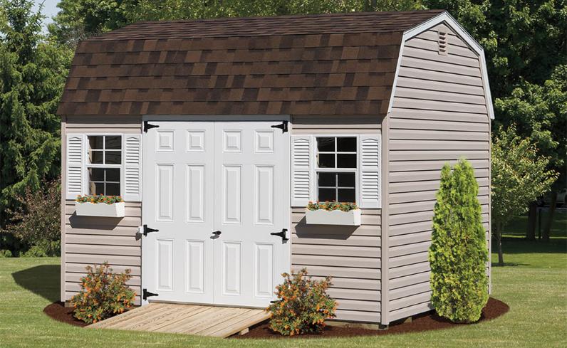 dutch barn shed style