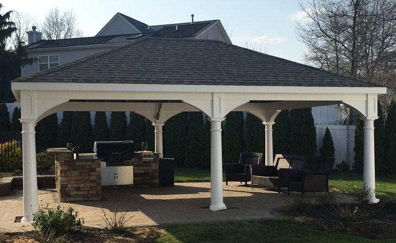 large pavilion size