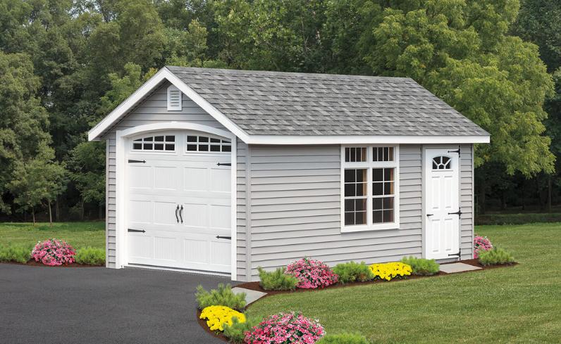 modular garage cost