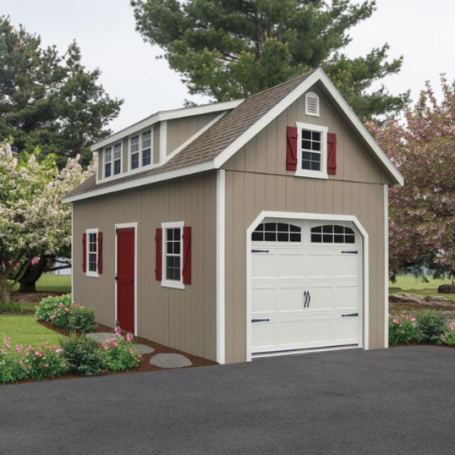 prefab garage prices
