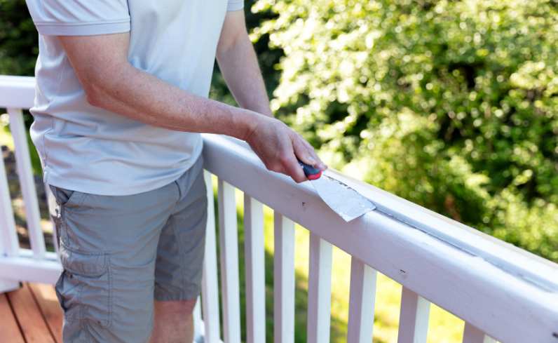 deck railing updates