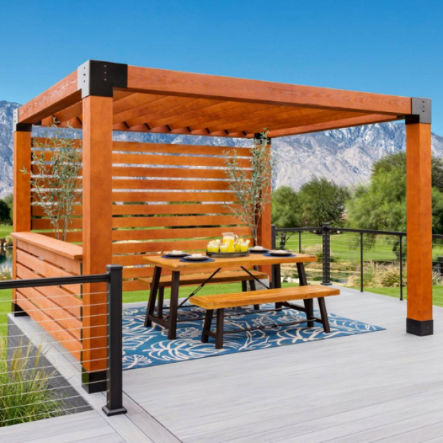 Explore Our Modern Wood Pergolas for Sale Online