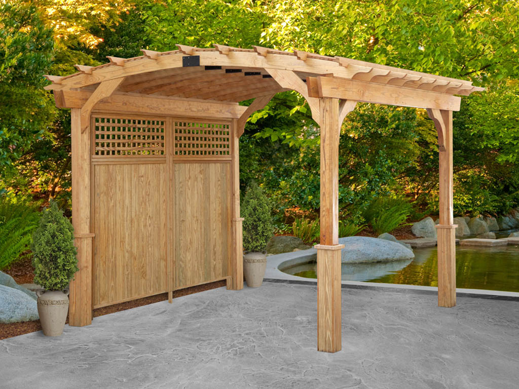 Wholesale pergola manufacturers for contractors and landscapers