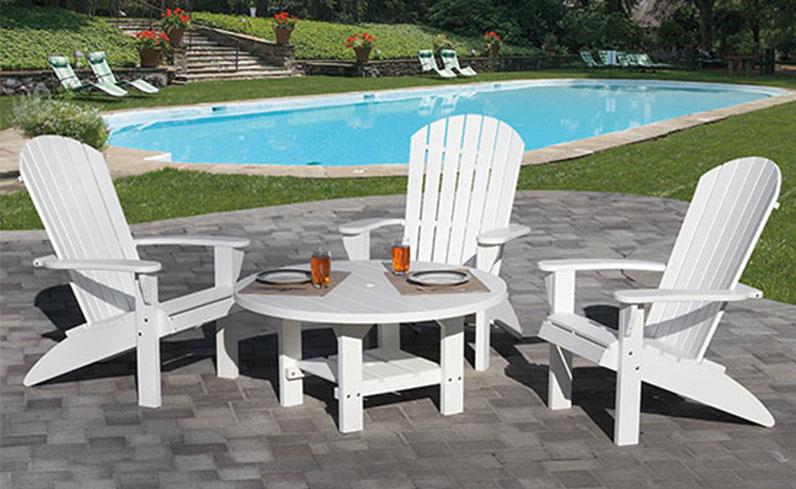 new backyard poly furniture