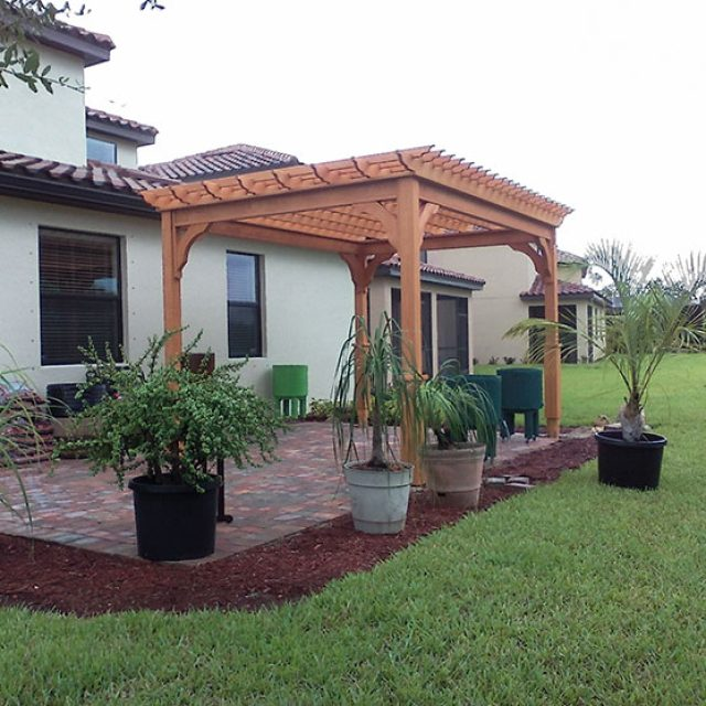 Best Lumber for Pergolas & Other Outdoor Structures