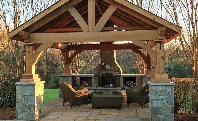wood pavilion inspiration