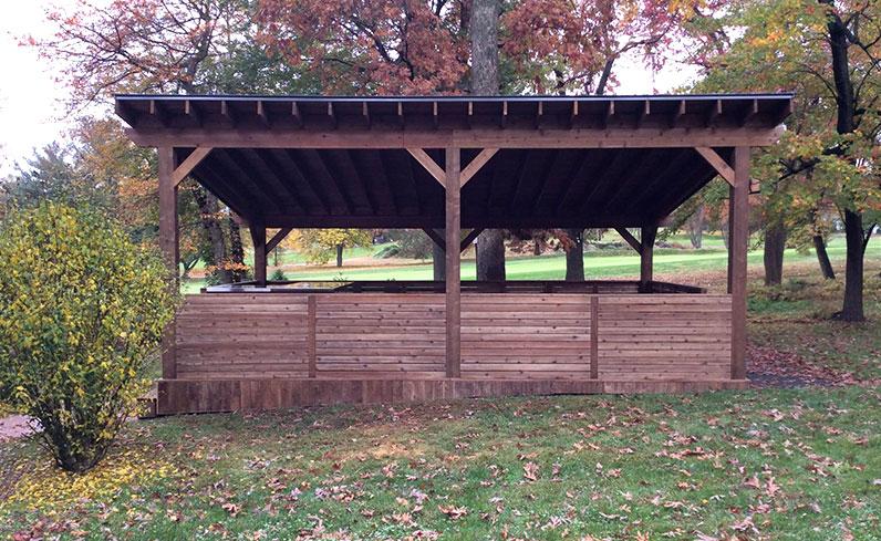 contemporary cedar pavilion prices