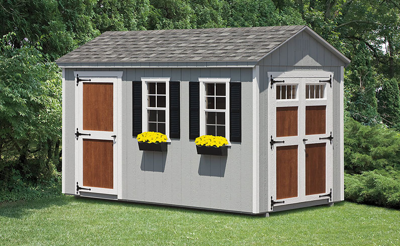 a-frame storage shed prices
