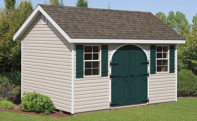 affordable classic shed