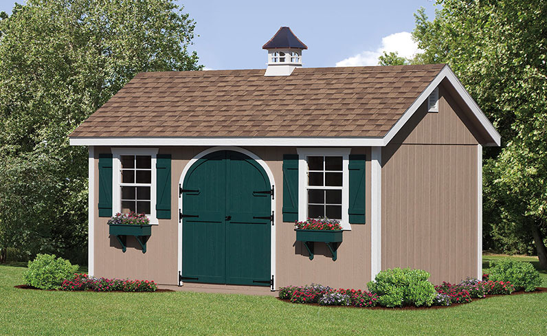 classic farm-style shed