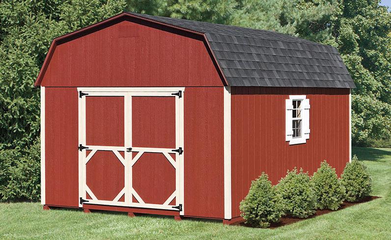 rustic mini barn